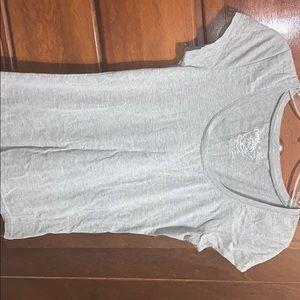 Short Sleeve Gray Top!